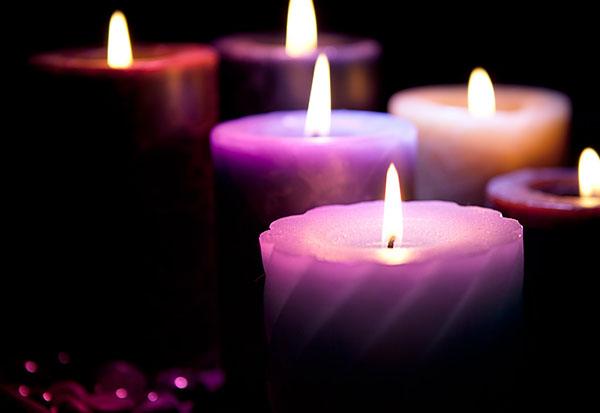 velas masaje